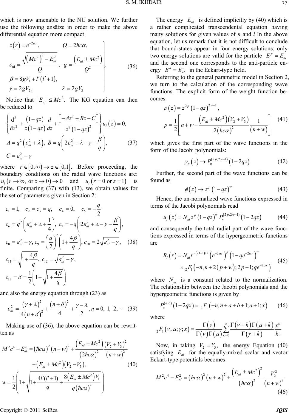 Bound States Of The Klein Gordon For Exponential Type Potentials In D Dimensions Adding polynomial expressions 172